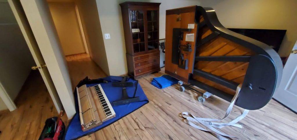 Blaine WA to Seattle Grand piano move